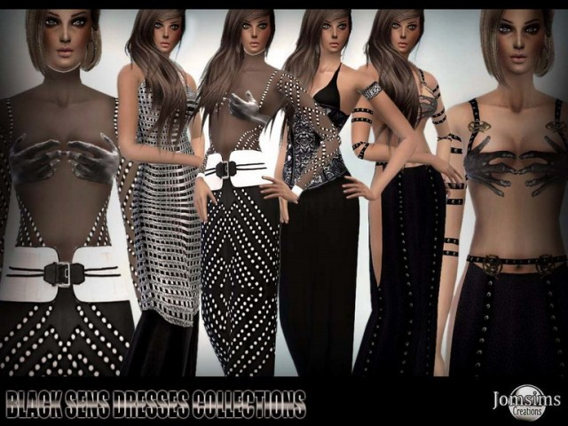 Black sens collection by JomSims