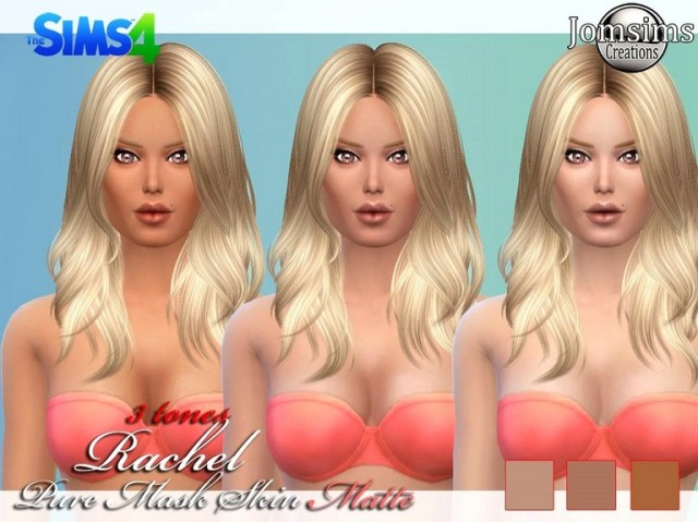 Rachel skin mask. Pure skin 3 tones by JomSims