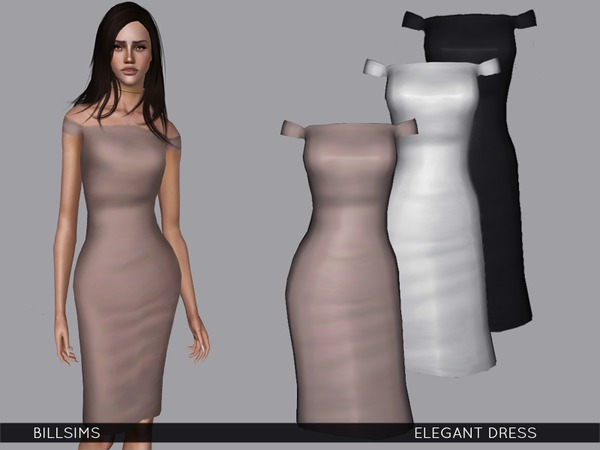 Elegant Dress by Bill Sims