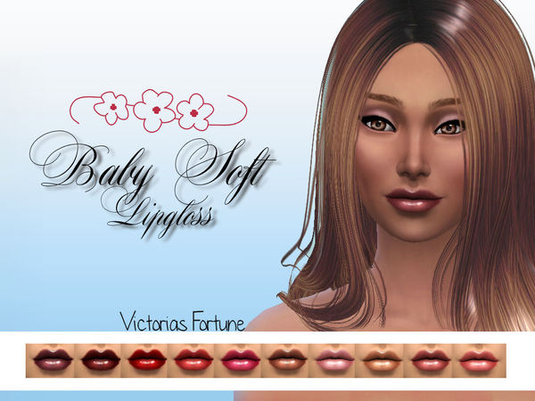 Victorias Fortune Baby Soft Lip Gloss Collection by fortunecookie1