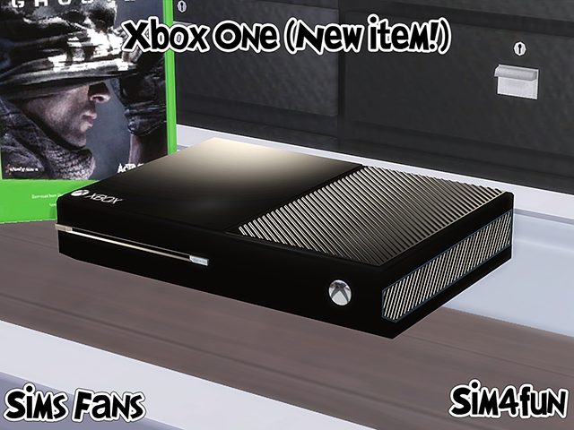 XBox One Clutter by Sim4Fun