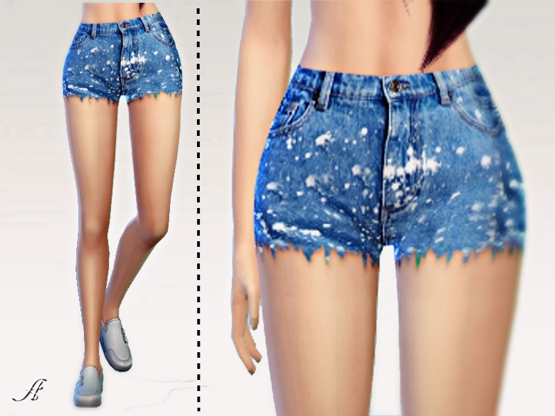 Plams Jeans Shorts BY Apathie