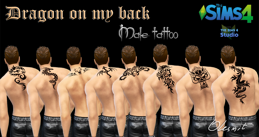 Tattoos for Males by Olesmit