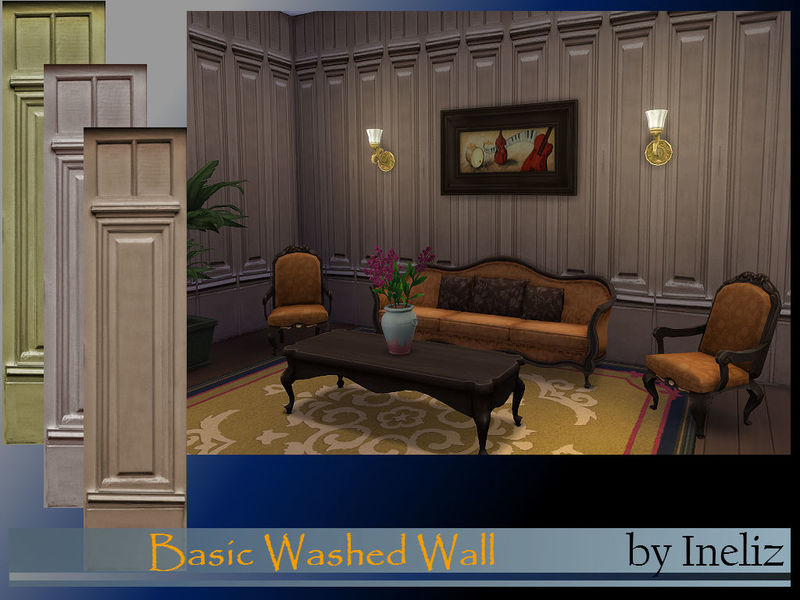Basic Washed Wall BY Ineliz