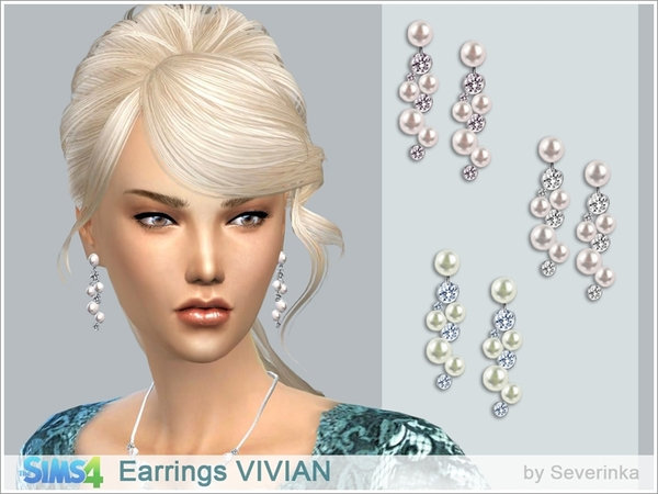 Earrings VIVIAN by Severinka