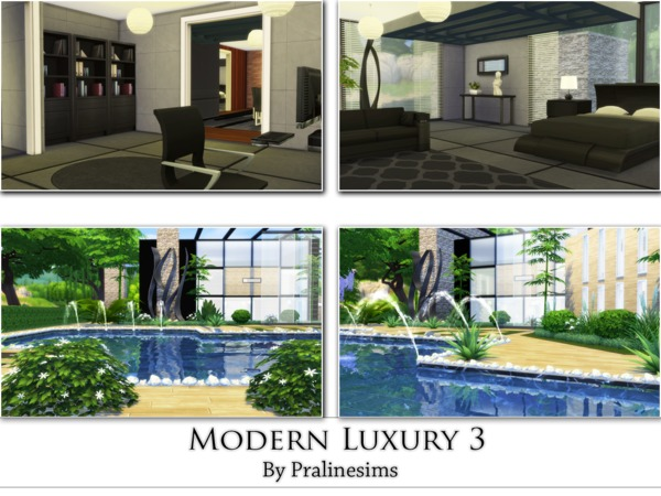 Modern Luxury 3 by Pralinesims