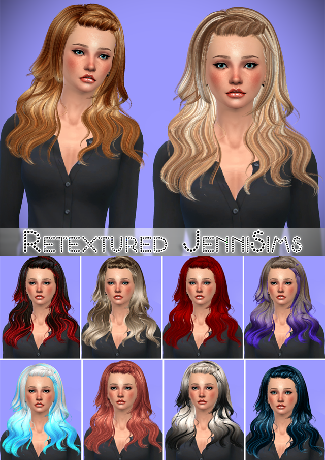 Newsea Morrison Hair retextured by Jenni Sims