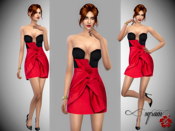 Taffeta Dress by EsyraM