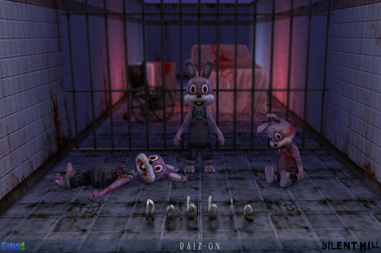Rabbit Robbie from Silent Hill by Raiz-On