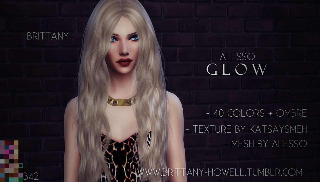 Alesso Glow Hair Retexture by BrittanyHowell