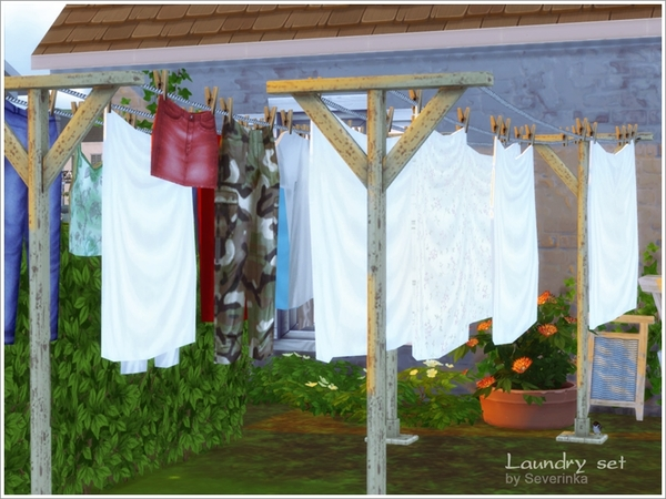 Laundry set by Severinka