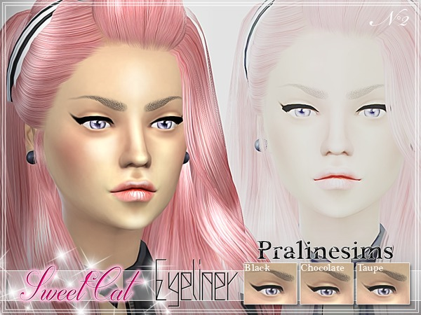 Sweet Cat Eyeliner by Pralinesims
