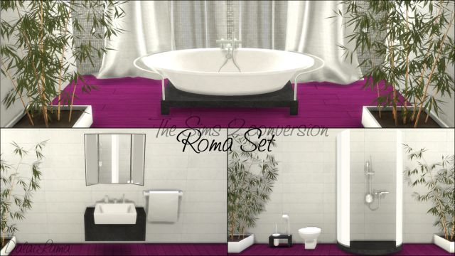 TS2 - ReflexSims Roma Bathroom Set Conversion by DalaiLama