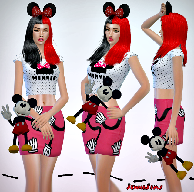 Accessory Mickey Mouse Doll by JenniSims