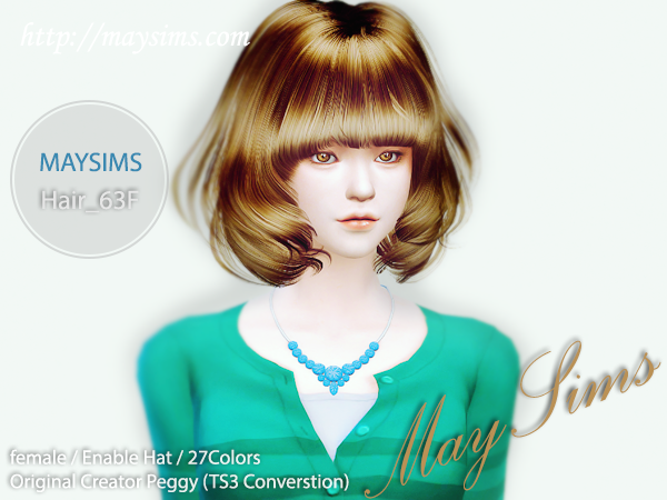 Hair63F by May Sims