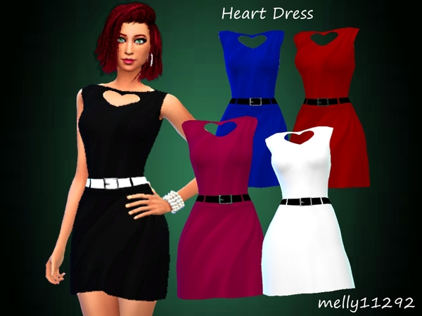Heart Dress by melly11292
