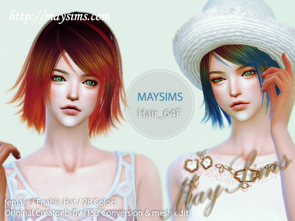 Hair64F by May Sims