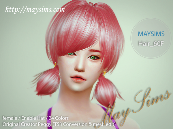 Hair60F by May Sims