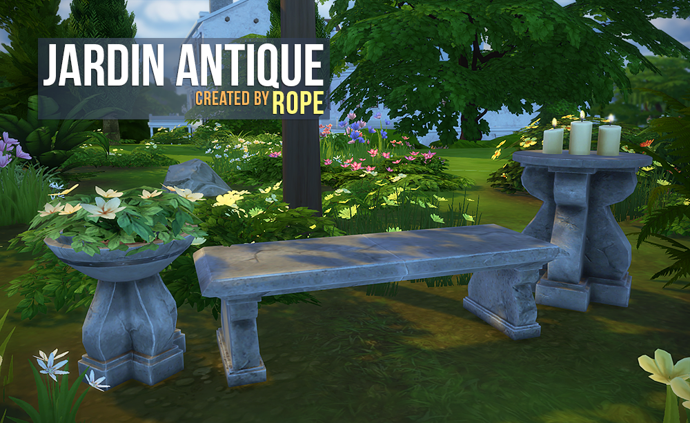 Jardin Antique by Rope