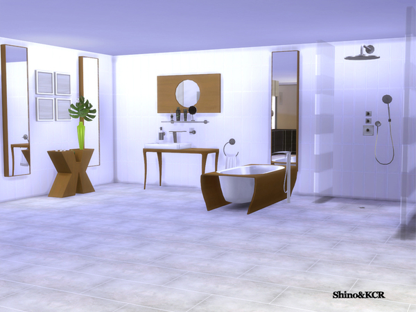 Bathroom Minimalist by ShinoKCR
