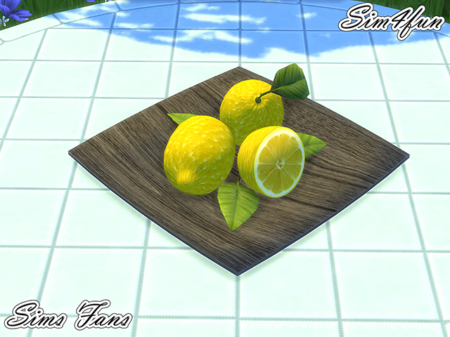 Decorative Fruit by Sim4Fun