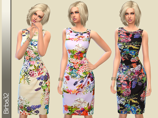 Summer floral dress by Birba32