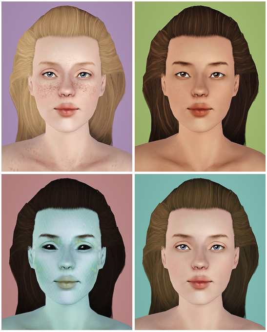 Skin Multipack by Noodlesims