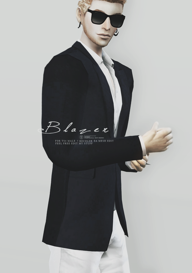 Blazers for Males by BlackLe