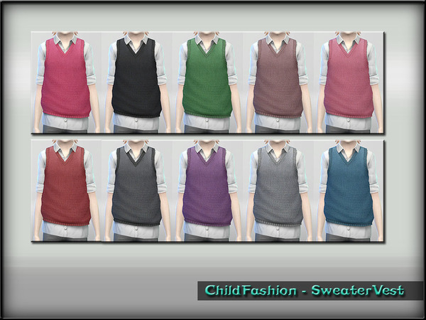 ChildFashion - SweaterVest by ShojoAngel