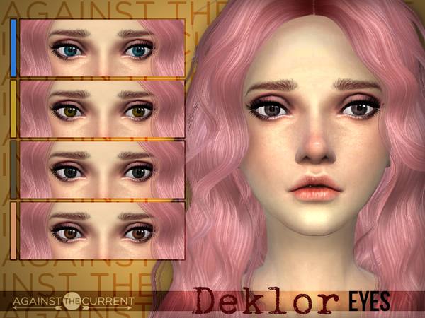[AtC] Deklor Eyes by AgainstTheCurrent