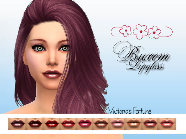 Victorias Fortune Buxom Lipgloss Collection by fortunecookie1