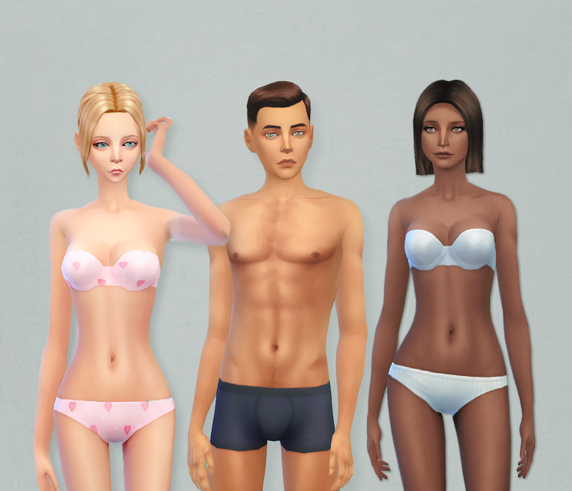 Polyester Bride Skin for Males & Females by LullabySims