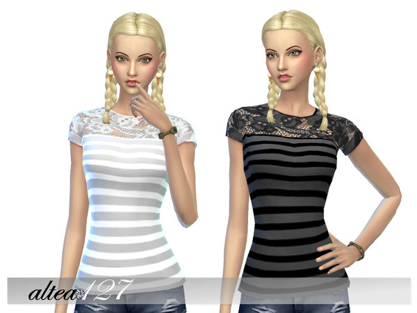 Striped shirt by altea127