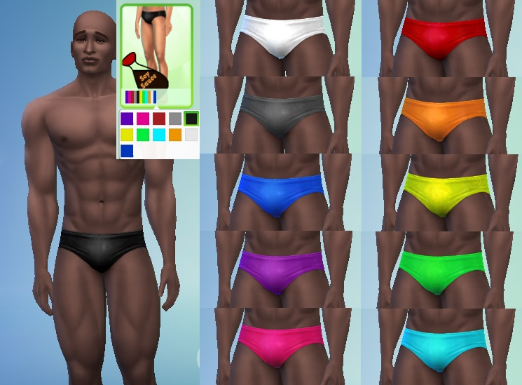 10 New Speedo Recolors by soysauce2001