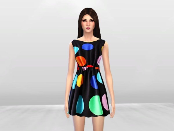 Polka Polka Dress by McLayneSims