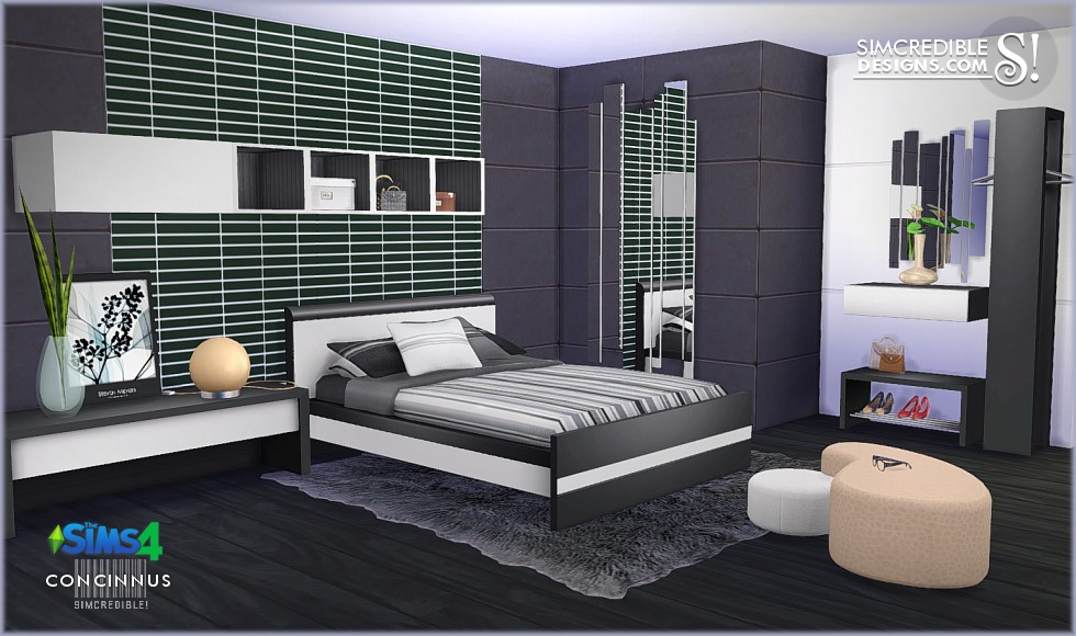 Concinnus Bedroom Set by Simcredible Designs