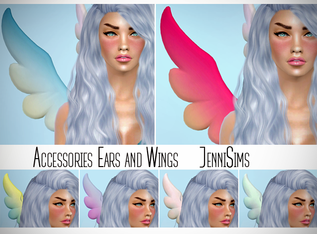 Accessory Wings by JenniSims