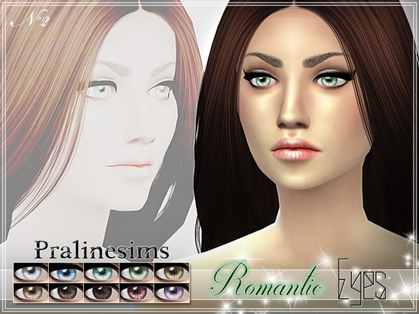Romantic Eyes by Pralinesims