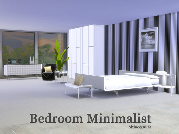 Bedroom Minimalist by ShinoKCR