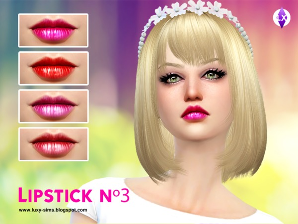 Lipstick N3 by LuxySims3