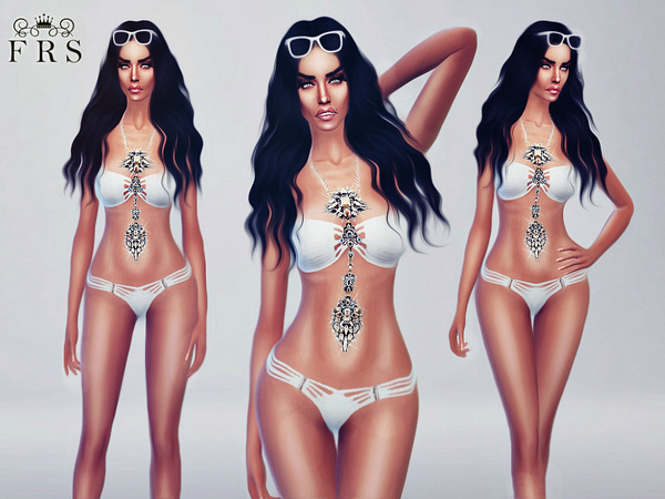 My Goddess Swimsuit by FashionRoyaltySims