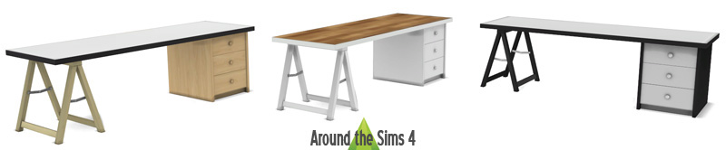 IKEA-like Desks by Sandy