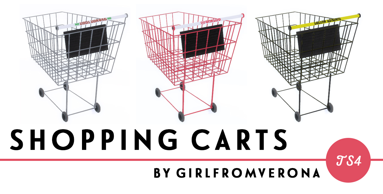 Shopping Carts by Girlfromverona