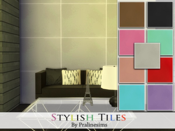 Stylish Tiles by Pralinesims