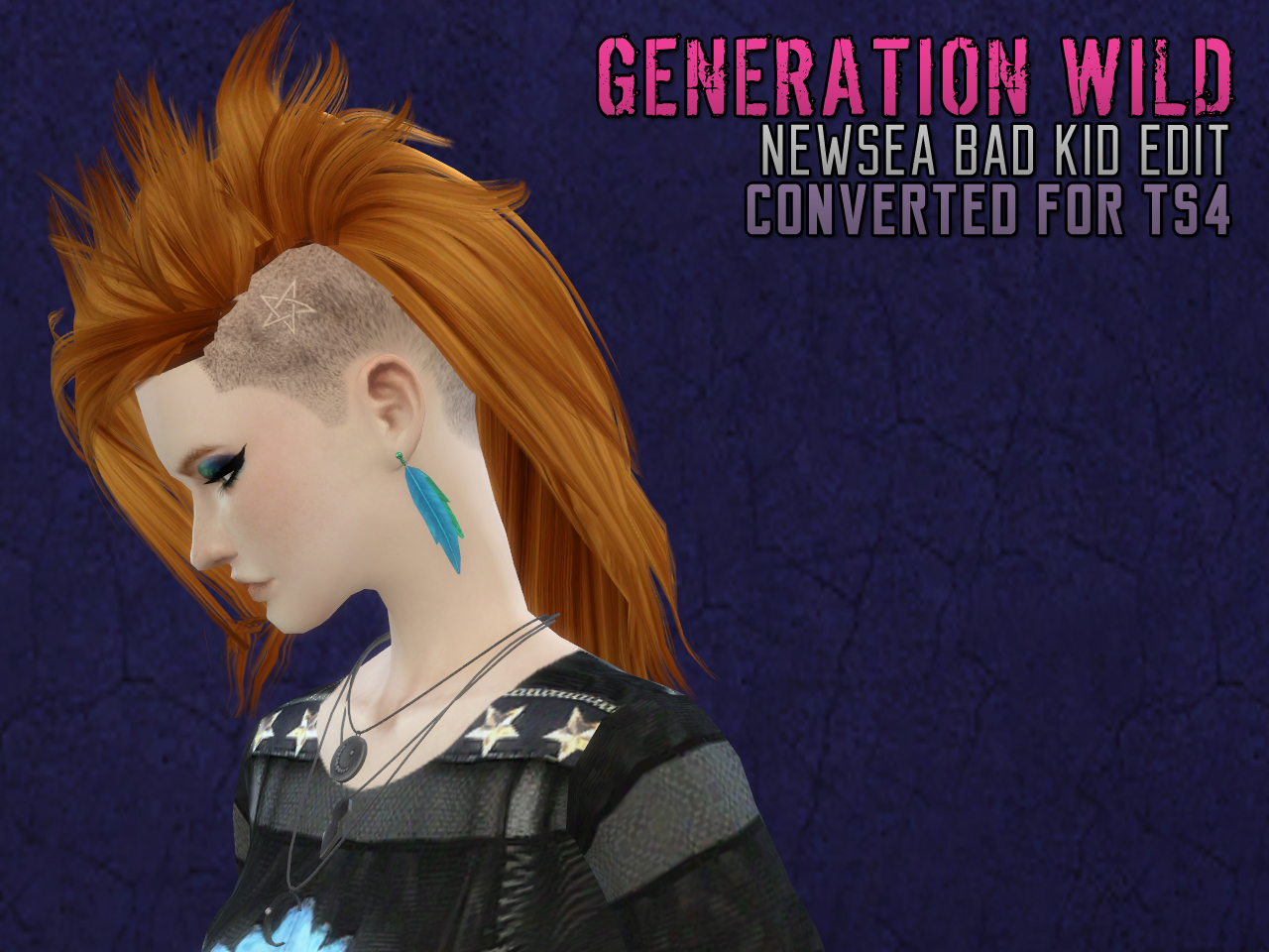 Newsea Bad Kid Edit Conversion for Males & Females by Astraea Nevermore