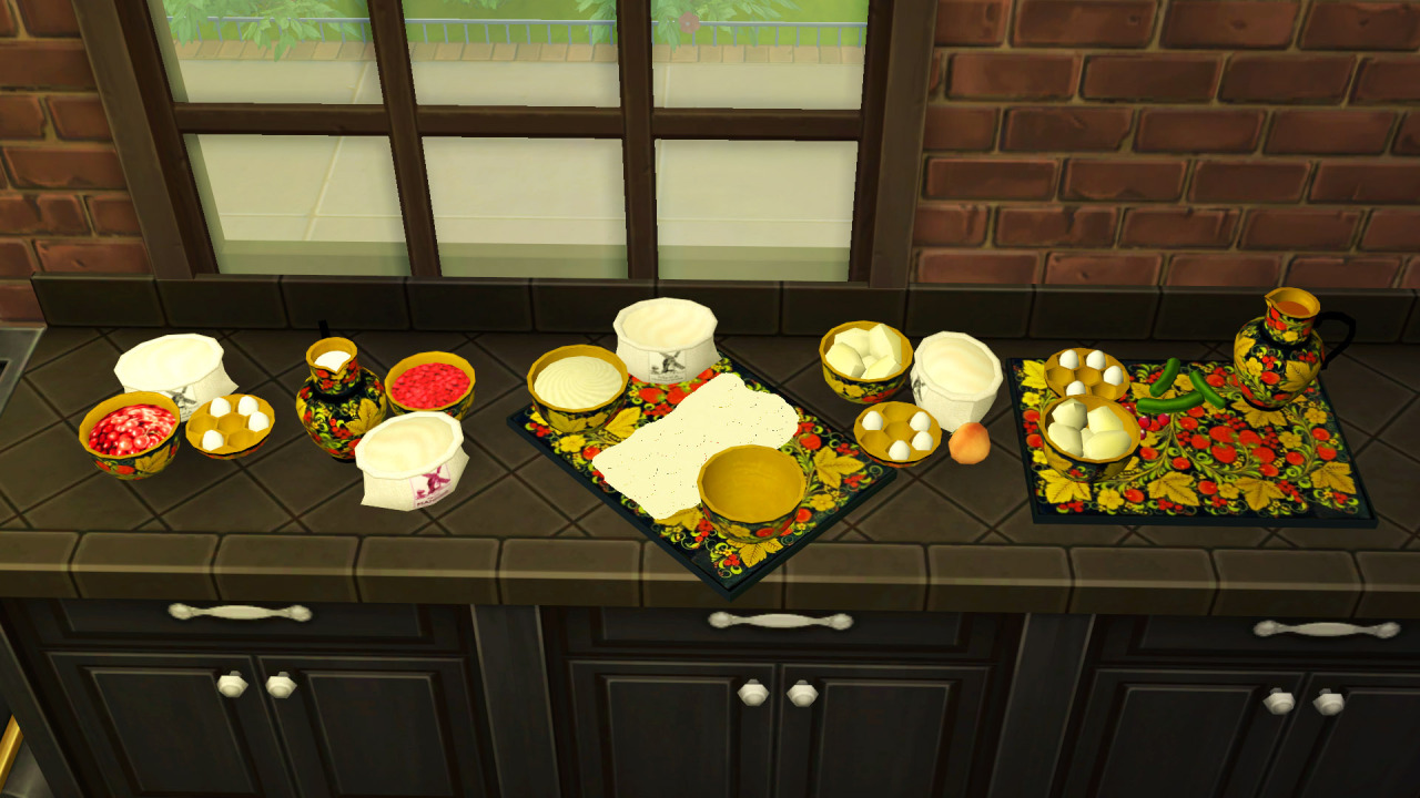 TS2 - Jasana Russian Food Collection Conversion by LadyBereniche