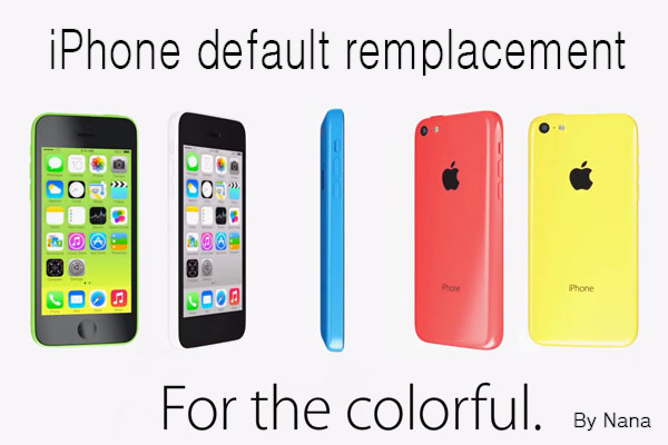 Functional phone default remplacement By Nana