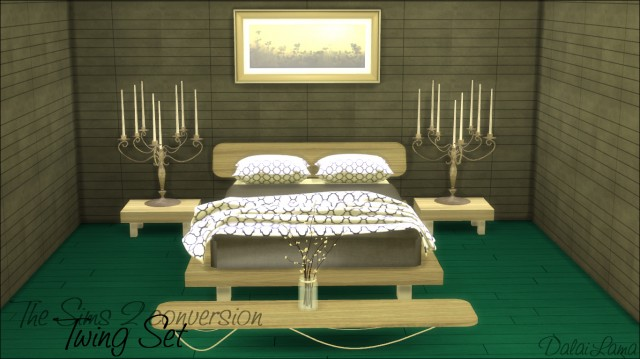 TS2 - ReflexSims Bedroom Set Conversion by DalaiLama