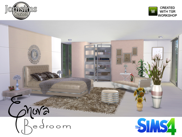 Enora Bedroom by jomsims