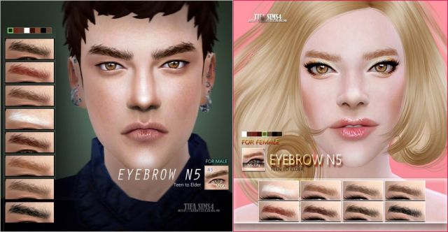 Eyebrow N5 by Tifa